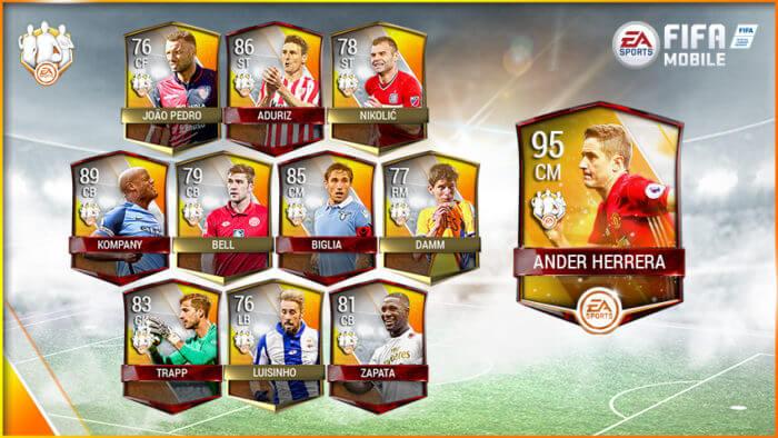 fifa mobile команда недели игрок недели 3 неделя