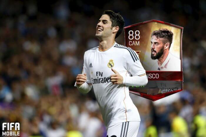 иско fifa mobile новая карточка