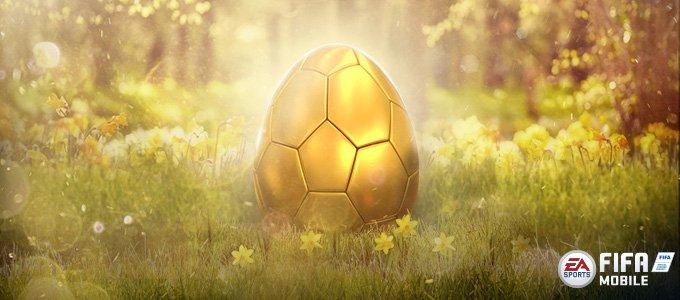 золотое яйцо пасха fifa mobile easter
