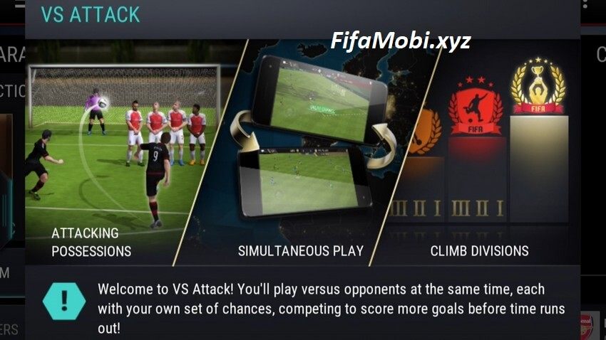 FIFA MOBILE'S VS ATTACK