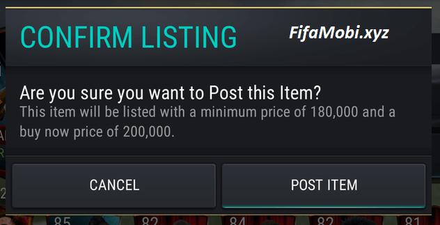 fifa mobile продажа