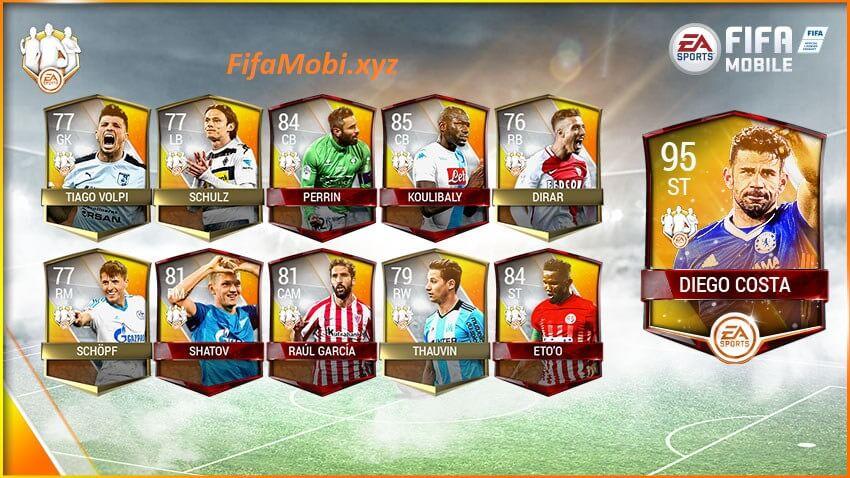 fifa mobile team of the wekk команда недели май фифа мобайл список