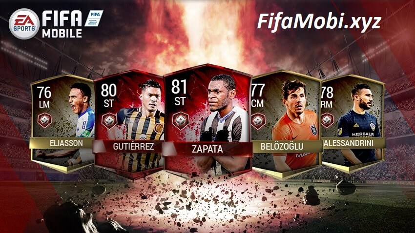 импакты fifa mobile 25 мая